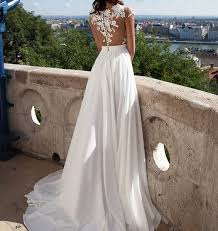 wedding dresses for sale online dress ivory lace wedding dresses front slit see through