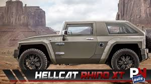 jeep hellcat 6x6 the hellcat rhino xt is basically a beefed up wrangler youtube