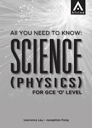 science physics for gce u0027o u0027 level by alston publishing house issuu