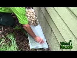 easy to install rock ecoboundary c around house using weed recede