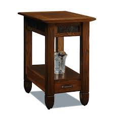leick corner accent table furniture tall side table with drawers triangle corner table small