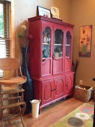 best 25 red hutch ideas on pinterest annie sloan chalk paint