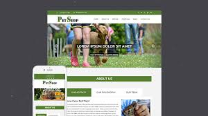 bootstrap themes free parallax free onepage parallax pet shop bootstrap html5 template pet shop
