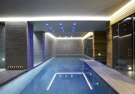 Residential Indoor Pool Cool House Swimming Pools Interior Design
