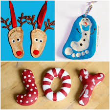 12 salt dough ornaments for from abcs to acts