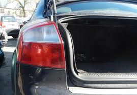 How To Replace Tail Light How To Replace Tail Light Bulb For Audi A4 B6