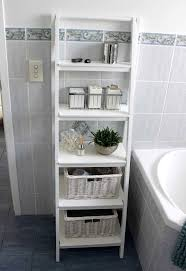 White Wicker Bathroom Storage Interior Outstanding Freestanding Bathroom Storage For Bathroom