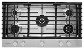 30 Downdraft Electric Cooktop 4 Burner Downdraft Cooktop Kcgs956ess Kitchenaid