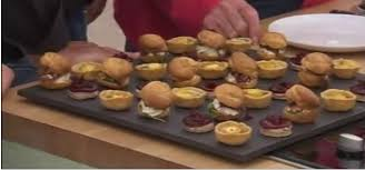 baked canapes the great bake 2013 episode 9 canapes