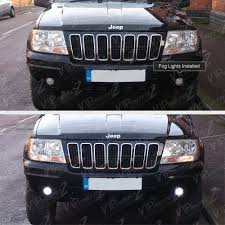 jeep grand cherokee fog lights 1999 2003 jeep grand cherokee wj brightest led driving fog light