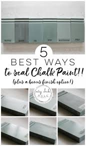 best sealer for white painted cabinets the 5 top ways to seal chalk paint or milk paint artsy
