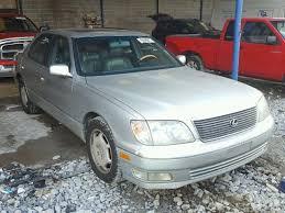 2000 lexus ls salvage certificate 2000 lexus ls sedan 4d 4 0l 8 for sale in