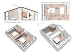 chambre sous les combles beau chambre sous les toits 11 am233nagement de 40m2 de combles