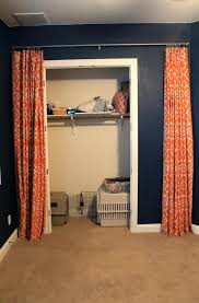 Shower Curtain For Closet Door Closet Curtains As Closet Doors Replace Closet Doors With
