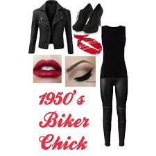 Dead Biker Halloween Costume 1950 U0027s Biker Agentmanklow Polyvore Featuring Rag