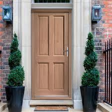 Colonial Exterior Doors Colonial Exterior 4 Panel Hardwood Door