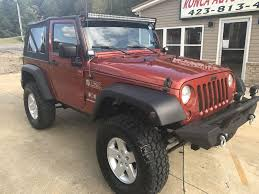 wrangler jeep 2009 orange jeep wrangler in tennessee for sale used cars on