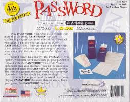 amazon com password the classic word association game 4th