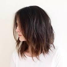 idã e coupe de cheveux mi idée tendance coupe coiffure femme 2017 2018 cheveux mi longs