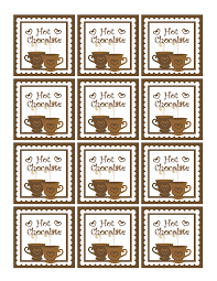 dollhouse bake shoppe free christmas printables gift tags