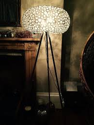 colours by b u0026q avella beaded globe shade floor lamp light 3x