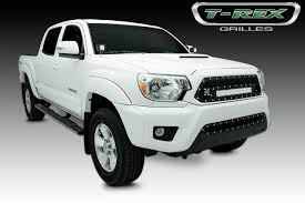 white toyota truck t rex toyota tacoma 2012 2015 toyota tacoma torch series led