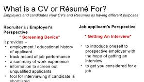 how to write a great cv for the kenyan job market perminus