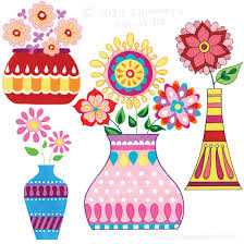 Draw A Flower Vase Draw Groovy Fun Easy Step By Step Drawing Lessons By Thaneeya