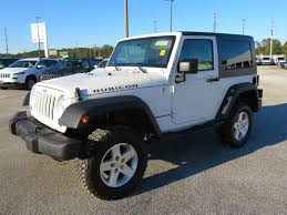jeep wrangler white 4 door jeep wrangler rubicon in georgia for sale used cars on