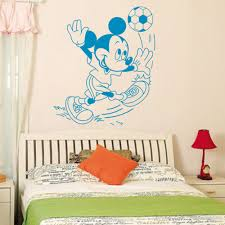 mouse wall stickers picture more detailed picture about mickey mickey mouse minnie mouse wall sticker children room nursery decoration diy adhesive mural removable vinyl wallpaper