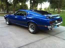 1969 mustang rear 1969 ford mustang mach 1 428 scj fastback rear 3 4 137640