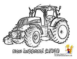 tractor coloring pages to print free farm tractors coloring with