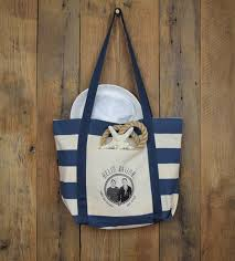 nautical tote blue nautical bag by hello sailor tmh