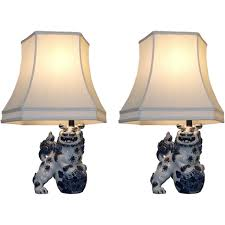 white ceramic foo dog lamps foo dog lamps ralph lauren foo dog
