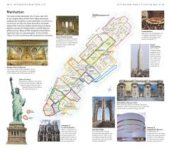 Walking Map Of New York City by Dk Eyewitness Travel Guide New York City Dk Travel