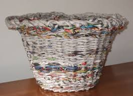 waste paper baskets how to recycle recycled waste paper basket