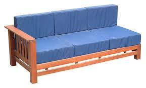 Three Seater Wooden Sofa Designs Simple Wooden Sofa Set Designs Oak Frame Couch With Blue Sets