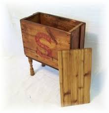 Shipping Crate Coffee Table - primitive shipping crate coffee table miller hart sold hand