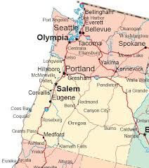 map of the oregon coast 8 best places to visit images on pacific coast oregon