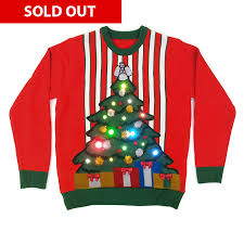 christmas tree jumper with lights the night before light up christmas jumper cheesy christmas jumpers