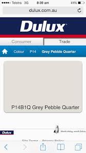 dulux grey pebble quarter u2026 pinteres u2026