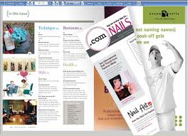 digital edition nails magazine online media kit