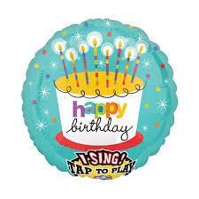 singing birthday delivery singing mylar foil balloons and balloon delivery by balloonplanet