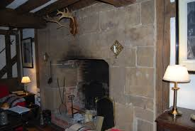 in at the ground floor exploring a 17th century home south wall of