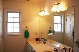 bathroom ideas bathroom light fixtures with large mirror ideas