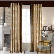 Bedroom Curtain Design Country Chic Blue Cotton And Linen Leaf Curtains