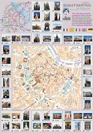 map of vienna vienna sightseeing map