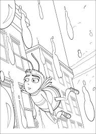 kids fun 40 coloring pages bee movie