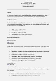 nice entry level management resume u2013 resume template for free