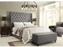 Linen Bed Frame Park Avenue Grey Linen Bed Shop For Affordable Home Furniture